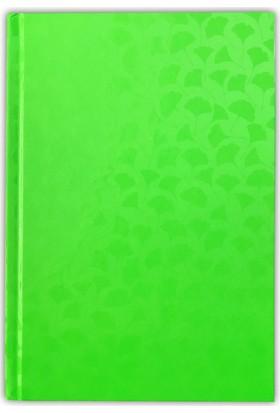 İstisna Neon Yeşil Defter (80 Yaprak, 14 x 20 cm)