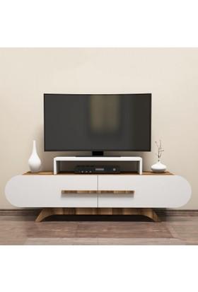Variant Concept Rose Tv Ünitesi Ceviz - Beyaz
