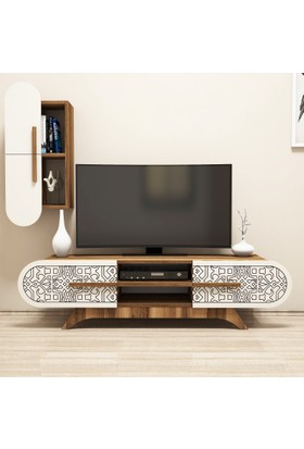 Variant Concept Defne Tv Ünitesi Ceviz - Ekru