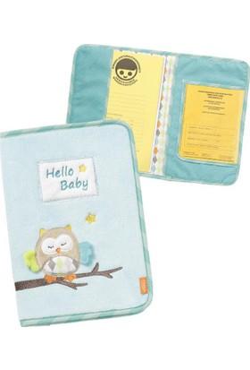 Baby Fehn Bebek Sağlık Karnesi Kılıfı Baykuş