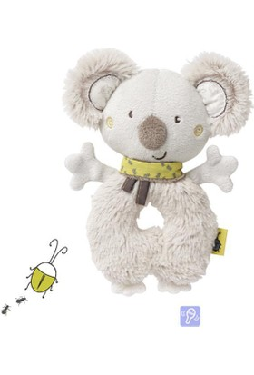 Baby Fehn Bebek Yumuşak Halka Çıngırak Koala