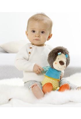 Baby Fehn C Halkalı Bebek Çıngıraklı Sevimli Oyuncak Aslan