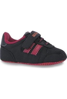 Kinetix 1204168 Siyah Kırmızı Erkek Çocuk Sneaker Ayakkabı