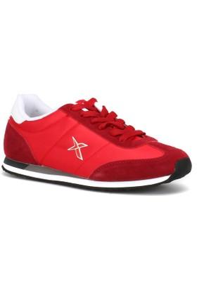 Kinetix 1230077 Kırmızı Kadın Sneaker Ayakkabı