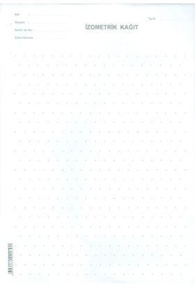 Dilman İzometrik Kağıt 100'Lü Paket