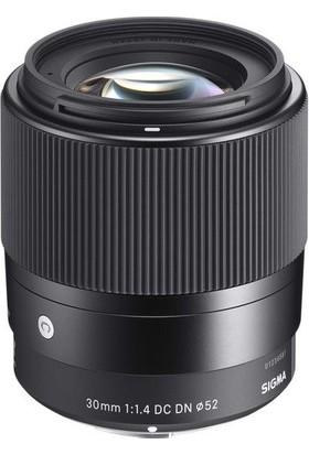 Sigma 30mm F1.4 DC DN Sony E Uyumlu Lens