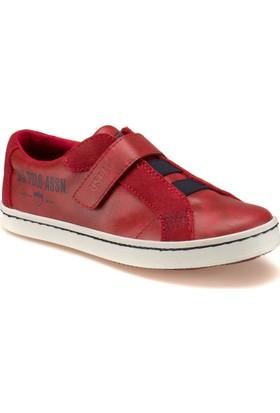 U.S. Polo Assn. Rıngo Kırmızı Unisex Çocuk Ayakkabı