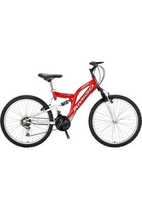 Amigo 24 Jant 2017 Çift Amortisör Yol Bisikleti