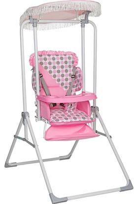 Dağlar Lüx Sırt Ayarlı - Mama Tablalı Salıncak - Mama Sandalyesi