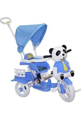 Dilaver Baby Poufi 2017 İtmeli 3 Teker Çocuk Bisikleti
