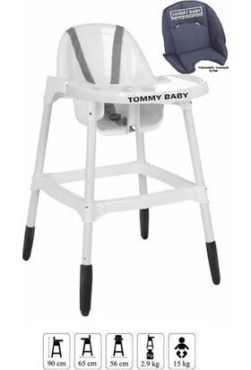Tommybaby Basic Pedli Mama Sandalyesi Beyaz