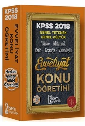İsem Yayıncılık Evveliyat Kpss Genel Yetenek Genel Kültür Modüler Konu Öğretim Seti 2018