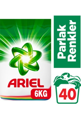 Ariel Çamaşır Deterjanı Parlak Renkler 6 kg