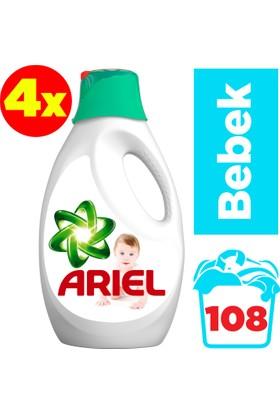 Ariel Baby Sıvı Çamaşır Deterjanı Bebekler İçin 4 x 27 Yıkama (108 Yıkama)