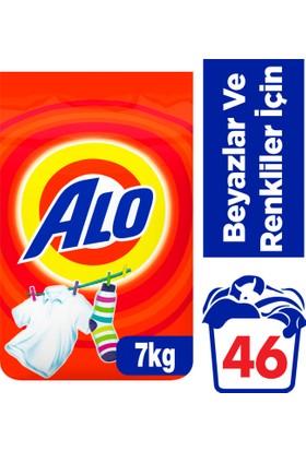 Alo Toz Çamaşır Deterjanı Beyazlar ve Renkliler İçin 7 kg