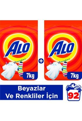 Alo Toz Çamaşır Deterjanı Beyazlar ve Renkliler İçin 7+7 kg