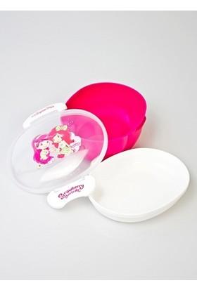 Çilek Kız Plastik Beslenme Kabı