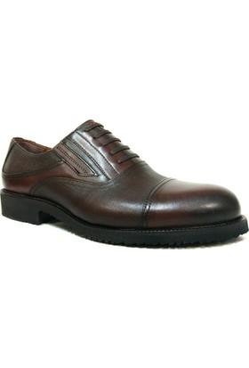 Fastway 1176 Kahve Bağcıksız Erkek Ayakkabı