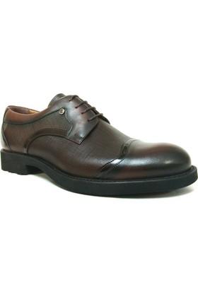 Fastway 1713 Kahve Bağcıklı Erkek Ayakkabı
