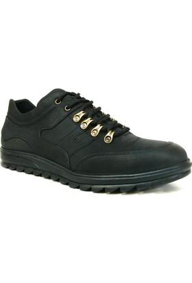 Dropland 5151 Siyah Bağcıklı Casual Erkek Ayakkabı