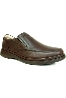 Fancy 208 Kahverengi Bağcıksız Comfort Erkek Ayakkabı