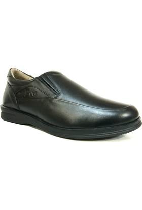 Rüya 720 Siyah Bağcıksız Comfort Erkek Ayakkabı
