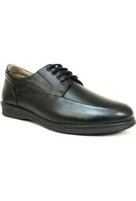 Rüya 721 Siyah Bağcıklı Comfort Erkek Ayakkabı