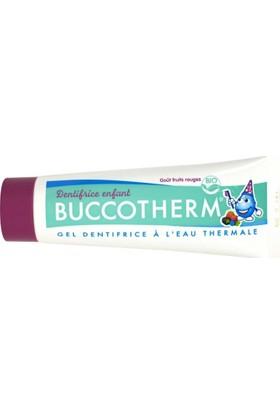 Buccotherm Çocuk Diş Macunu 3 Yaş+ Berry Meyveli 50 Ml
