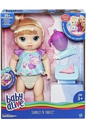 Hasbro Baby Alive Işıltılı Bebeğim Oyuncak Bebek