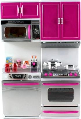 Vardem Oyuncak Mini Mutfak Seti Fırın ve Bulaşık Makineli