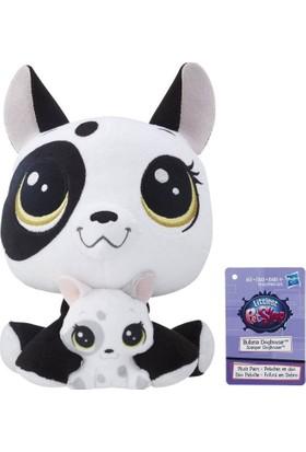 Hasbro Miniş ve Yavrusu Peluş Oyuncak Bullena & Scamper Doghouser