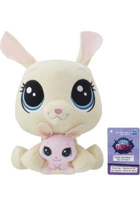 Hasbro Miniş ve Yavrusu Peluş Oyuncak Vanilla & Bijou Velvetears