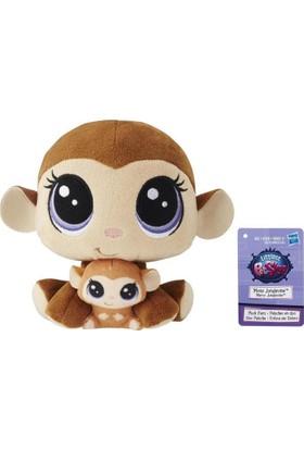 Hasbro Miniş ve Yavrusu Peluş Oyuncak Mona & Merry Junglevine