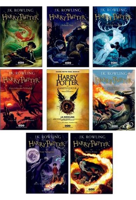 Harry Potter Set (8 Kitap) - J. K. Rowling