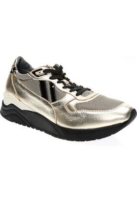 4 US Cesare Paciotti Ad1Tdl Bayan Altın Ayakkabı