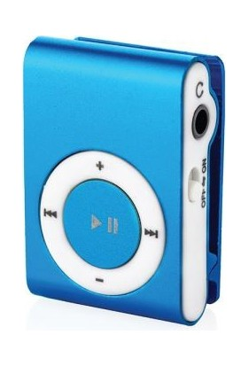 Bludfire M1 Mp3 Player Mavi