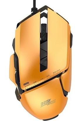 James Donkey 325 Turuncu Optik 3000DPI Profesyonel Metal Kasalı LED DPI Göstergeli USB Pro Oyuncu Mouse