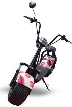 Quality Motors Elektrikli Scooter - Dudak Grafity - E Scooter