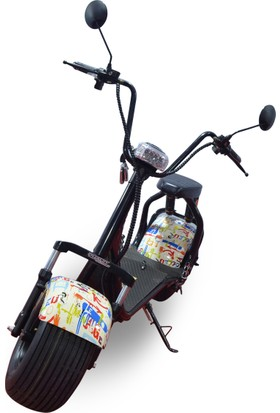 Quality Motors Elektrikli Scooter - Grafity - E Scooter