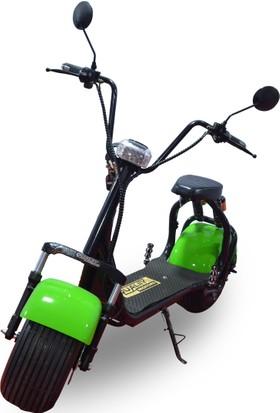 Quality Motors Elektrikli Scooter - Yeşil - E Scooter