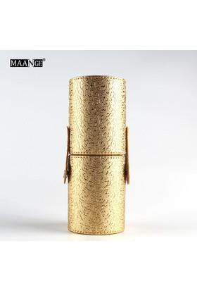 Hannah Dore 12 Parça Çarpıcı Altın Makyaj Fırça Seti