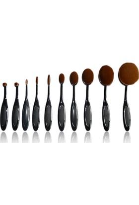 Multipurpose 10 Parça Makyaj Fırça Seti