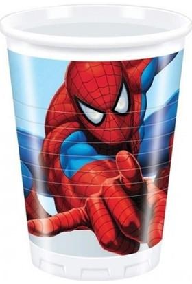 Hepsi Dahice Ultimate Spider-Man Orijinal Lisanslı 8 Adet 200 ml Bardak