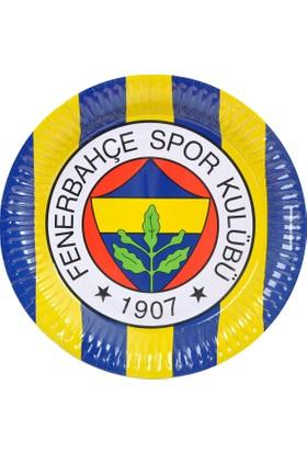 Hepsi Dahice Orijinal Lisanslı Fenerbahçe 8 Adet 23 cm Tabak