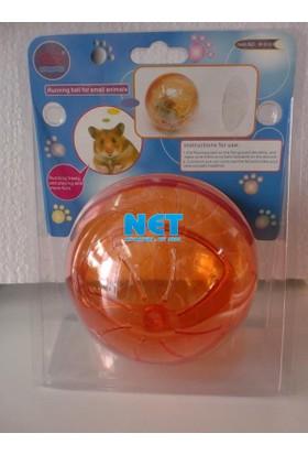 Dayang Hamster Topu Oyuncak ( Çap 12 Cm ) Portakal