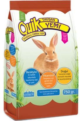 Quik Tavşan Yemi 750 Gr 5'Li
