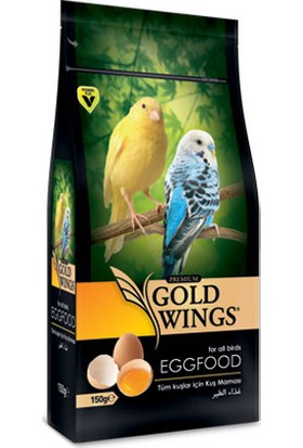 Gold Wings Premium Kuş Maması 150 Gr 6'Lı