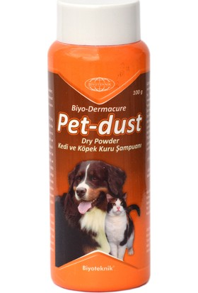 Biyo-Teknik Biyoteknik Pet-Dust Dry Powder Şampuan 100 Gr..
