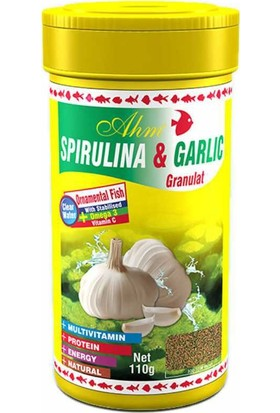 Ahm Spirulina Garlic Sarımsaklı 250 Ml