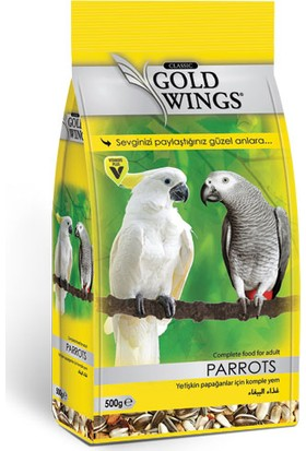 Gold Wings Classic Gwc Papağan Yemi 500 Gr 6'Lı